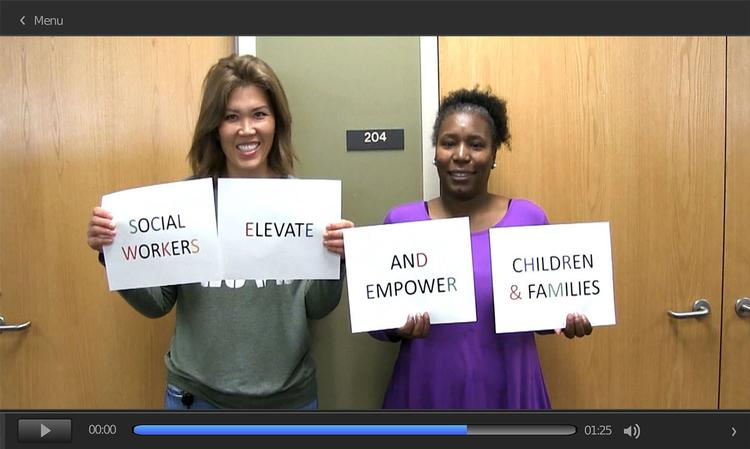 Watch <em>Social Workers Elevate</em> on YouTube.