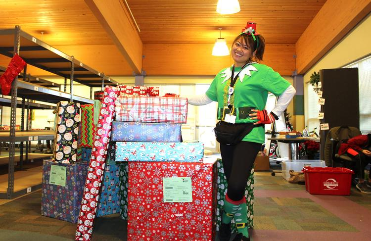 FCCS Volunteer Coordinator and Part Time Elf Joy Xaybandith